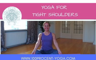 YOGA For Tight Shoulders