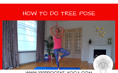 YOGA Tutorial: How To Do Tree Pose