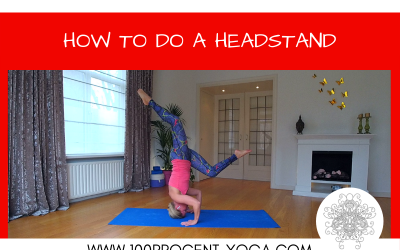 Yoga Tutorial: How To Do A Headstand