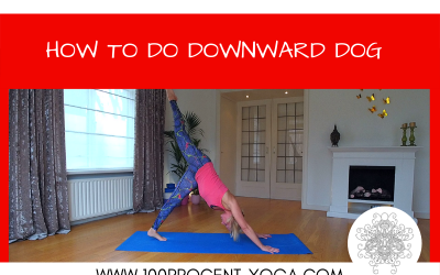 Yoga Tutorial: How To Do Downward Dog