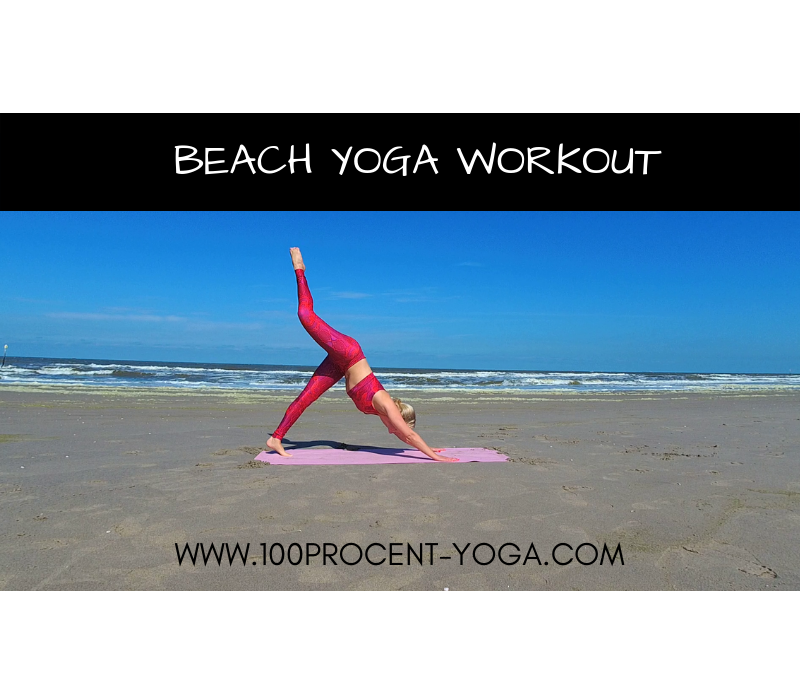 Beach Yoga Workout | 2 of 4