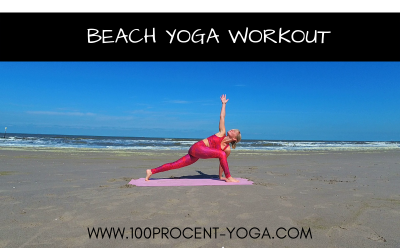 Beach Yoga Workout | 3 of 4