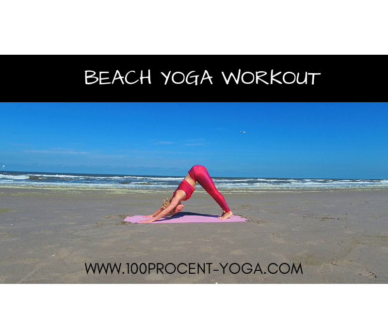 Beach Yoga Workout | 1 of 4