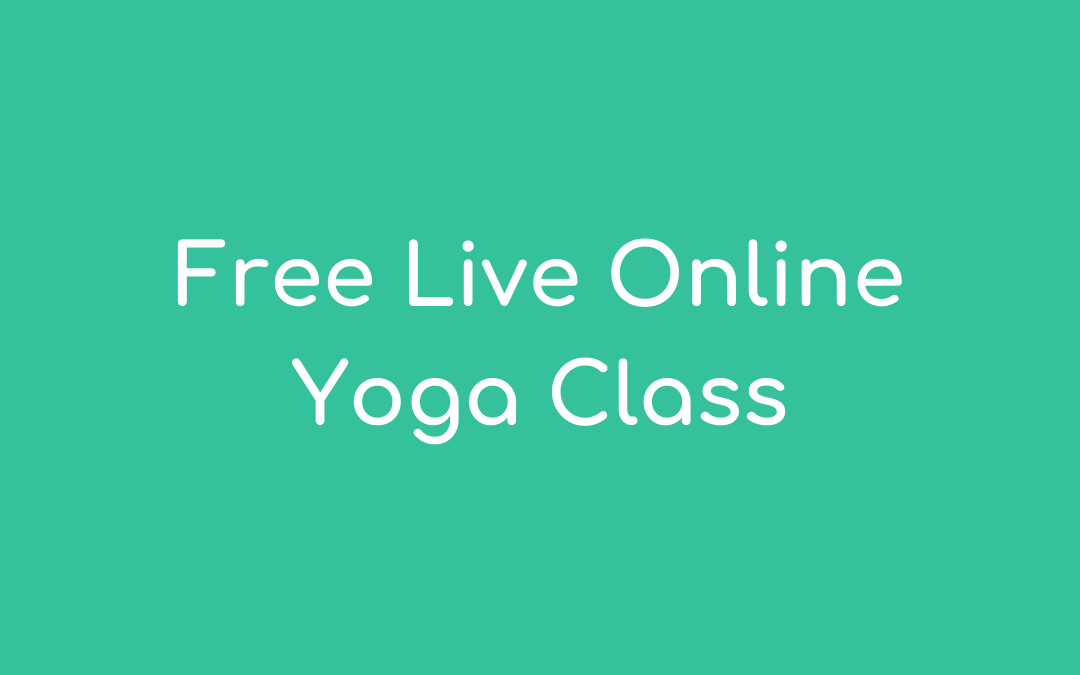 Free Live Online Yoga Class
